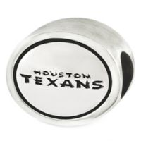 Sterling Silver NFL Houston Texans Antiqued Charm Bead