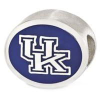 Sterling Silver Collegiate University of Kentucky Enameled Charm Bead