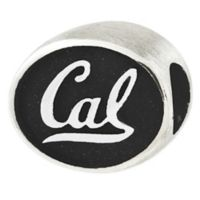 Sterling Silver Collegiate University of California Antiqued Charm Bead