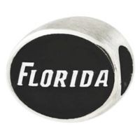 Sterling Silver Collegiate University of Florida Antiqued Charm Bead