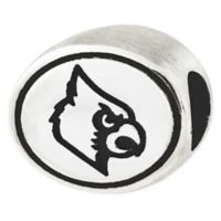 Sterling Silver Collegiate University of Louisville Cardinals Antiqued Charm Bead
