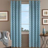 Morocco 63-Inch Window Curtain Panel in Aqua