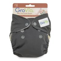 GroVia® Newborn All-in-One Cloth Diaper in Cloud