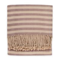 Nine Space Hotel Collection Throw in Plum
