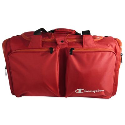 Buy Champion 174 Habit 22 Inch Duffle Bag In Red Grey From