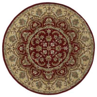 buy burgundy area rugs from bed bath  beyond, 9 foot circle rug, 9 foot diameter round rug, 9 foot round braided rug