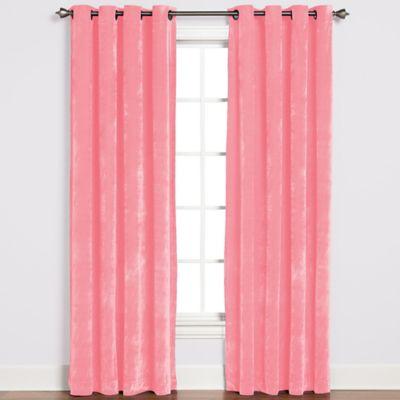 Plush Pink Curtains Curtain Menzilperde Net