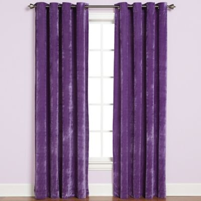 Buy Velvet Curtains From Bed Bath Amp Beyond