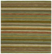 Kaleen Tara Twilight 11-Foot 9-Inch Square Area Rug in Natural
