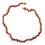 Healing Hazel Baltic Amber 10.5-Inch Baby Necklace in Raw Cognac
