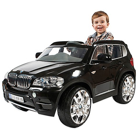 Bmw x5 ride on in black buybuy baby for Motorized cars for 7 year olds