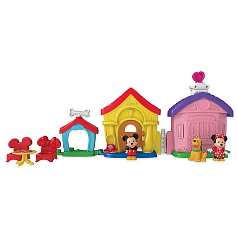 Fisher Price 174 Little People 174 Mickey And Minnie S House