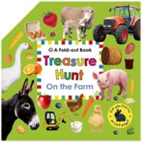 Treasure Hunt: On the Farm Fold Out Book by Roger Priddy