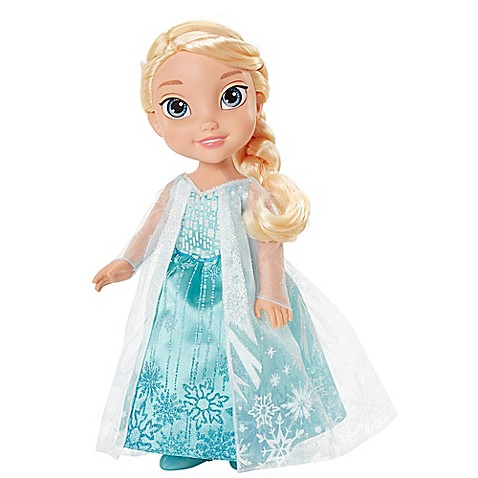 Disney 174 Quot Frozen Quot Elsa Doll With Blonde Hair Bed Bath