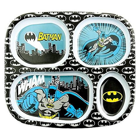 Bumkins® DC Comics Batman Melamine Divided Plate  sc 1 st  Bed Bath u0026 Beyond & Bumkins® DC Comics Batman Melamine Divided Plate - Bed Bath u0026 Beyond