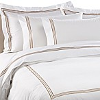Bellino Tivoli King Duvet Cover in Taupe
