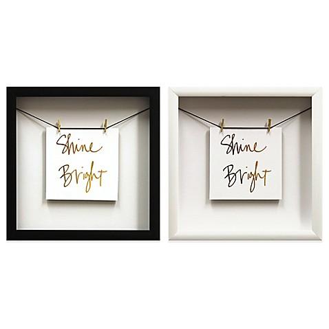 shine gold foil wall d cor bed bath beyond. Black Bedroom Furniture Sets. Home Design Ideas