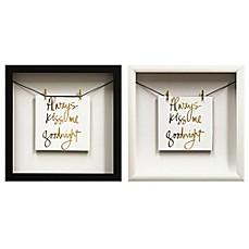 Always Kiss Gold Foil Wall D Cor