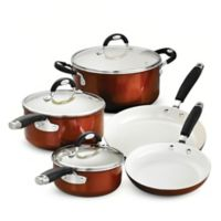 Tramontina® Style Ceramica Metallic Copper 8-Piece Cookware Set