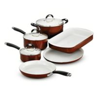 Tramontina® Style Ceramica Metallic Copper 9-Piece Cookware and Bakeware Set