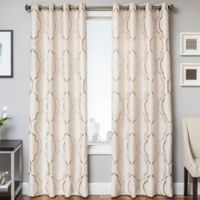 Trinidad 96-Inch Window Curtain Panel in Champagne