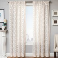 Celestia 84-Inch Window Curtain Panel in Natural