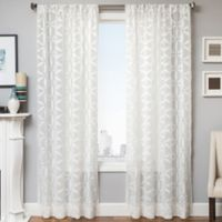 Celestia 84-Inch Window Curtain Panel in White