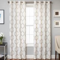 Beverly 84-Inch Window Curtain Panel in Mushroom