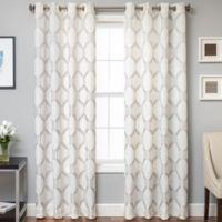 Beverly 96-Inch Window Curtain Panel in Mushroom