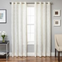 Beverly 108-Inch Window Curtain Panel in Bone