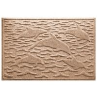 Weather Guard™ 23-Inch x 35-Inch Porpoise Mat in Brown