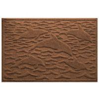 Weather Guard™ 23-Inch x 35-Inch Porpoise Mat in Dark Brown