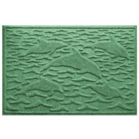 Weather Guard™ 23-Inch x 35-Inch Porpoise Mat in Light Green