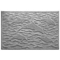 Weather Guard™ 23-Inch x 35-Inch Porpoise Mat in Grey