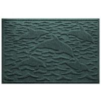Weather Guard™ 23-Inch x 35-Inch Porpoise Mat in Green