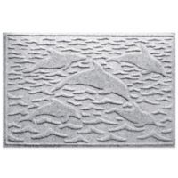 Weather Guard™ 23-Inch x 35-Inch Porpoise Mat in White