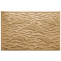 Weather Guard™ 23-Inch x 35-Inch Porpoise Mat in Gold