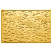 Weather Guard™ 23-Inch x 35-Inch Porpoise Mat in Yellow
