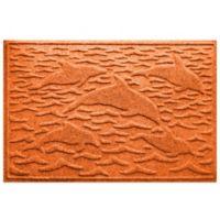 Weather Guard™ 23-Inch x 35-Inch Porpoise Mat in Orange