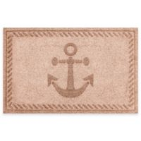 Weather Guard™ 23-Inch x 35-Inch Anchor Mat in Brown