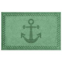 Weather Guard™ 23-Inch x 35-Inch Anchor Mat in Light Green