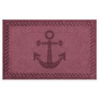 Weather Guard™ 23-Inch x 35-Inch Anchor Mat in Maroon