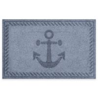 Weather Guard™ 23-Inch x 35-Inch Anchor Mat in Blue