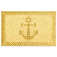 Weather Guard™ 23-Inch x 35-Inch Anchor Mat in Yellow