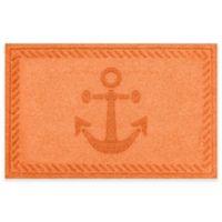 Weather Guard™ 23-Inch x 35-Inch Anchor Mat in Orange