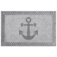 Weather Guard™ 23-Inch x 35-Inch Anchor Mat in Grey