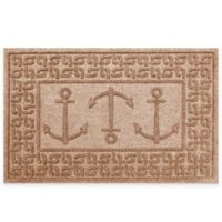 Weather Guard™ 23-Inch x 35-Inch Ahoy! Mat in Brown