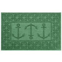 Weather Guard™ 23-Inch x 35-Inch Ahoy! Mat in Light Green