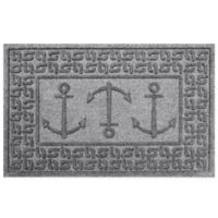 Weather Guard™ 23-Inch x 35-Inch Ahoy! Mat in Grey