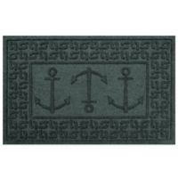 Weather Guard™ 23-Inch x 35-Inch Ahoy! Mat in Green